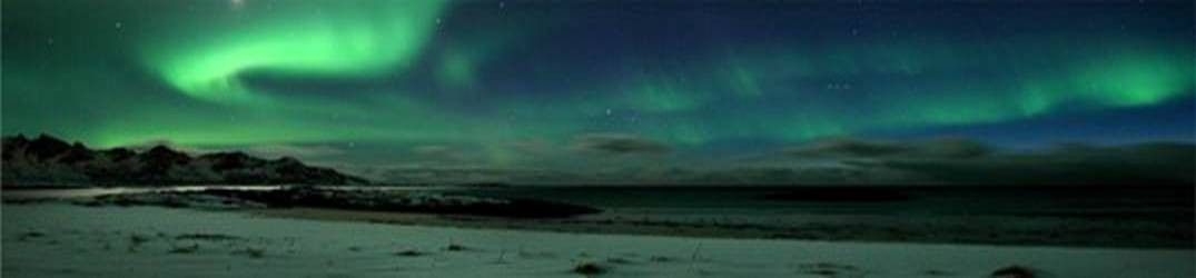 boreal northern lights in Norway